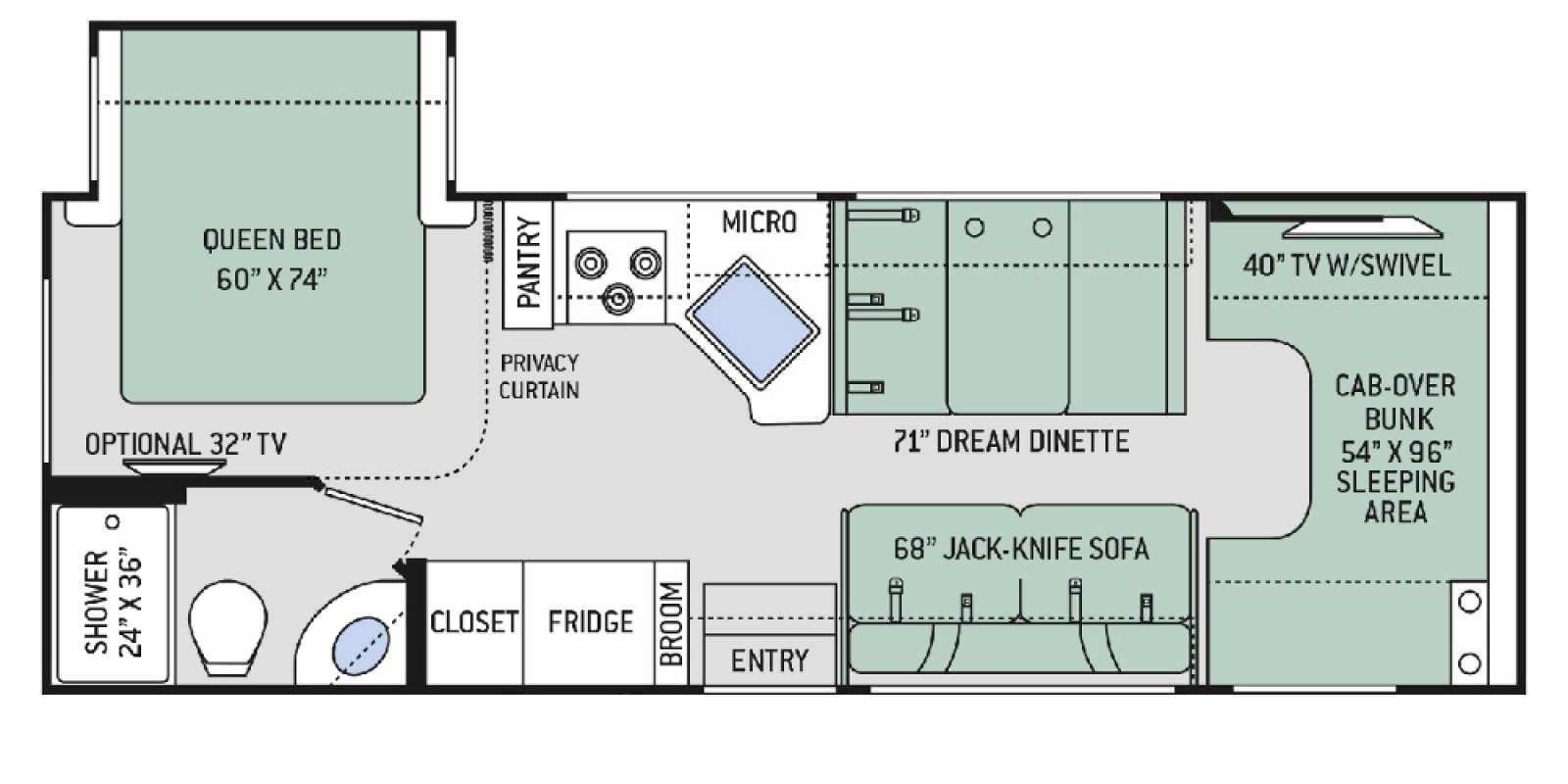 RV Floorplan